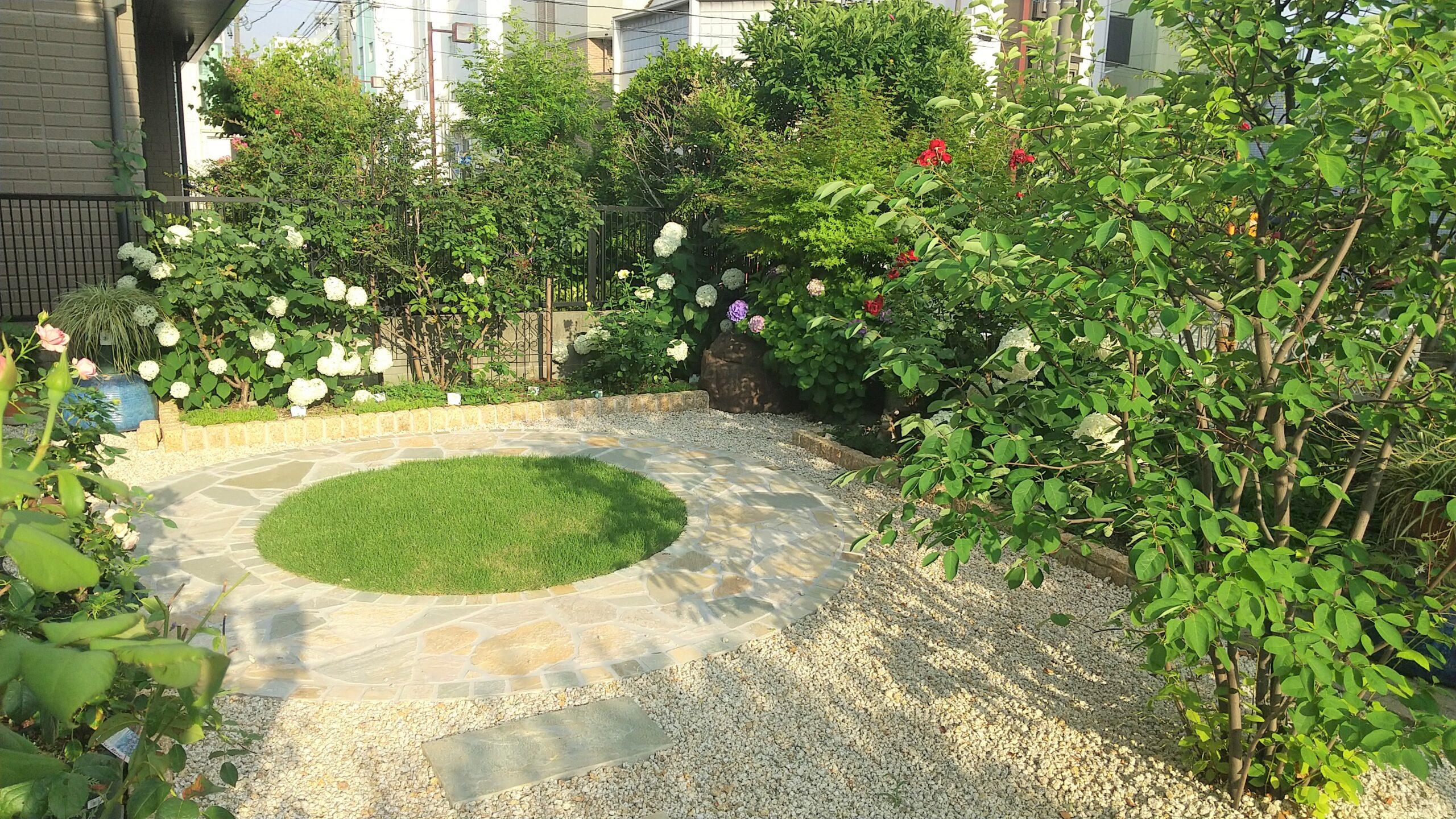 メンテナンスが楽な庭空間(名古屋市港区H様邸)