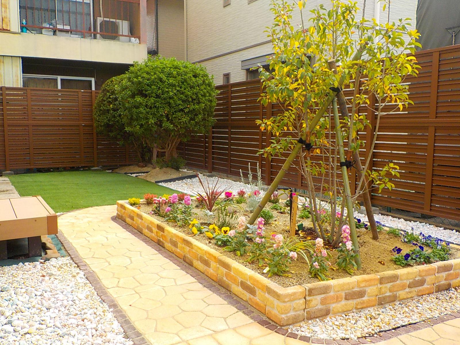 快適な庭空間