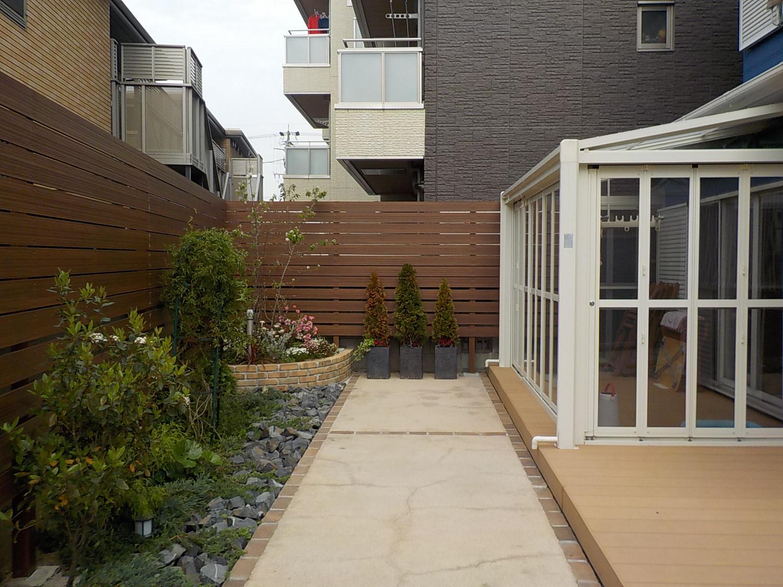 毎日お庭に出て行きたくなるガーデンリフォーム(名古屋市熱田区T様邸)