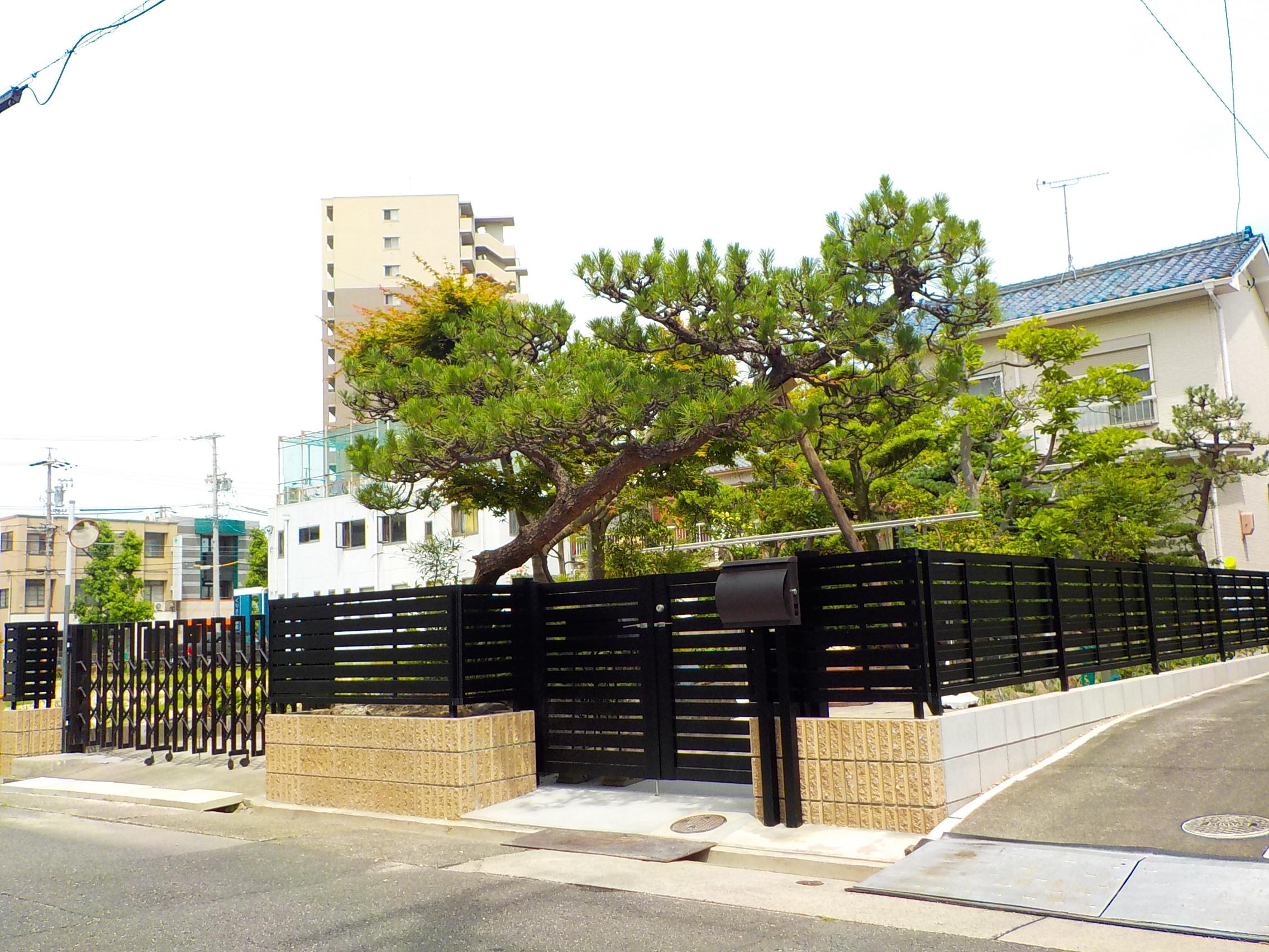 ブロック塀更新工事(名古屋市港区M様邸)