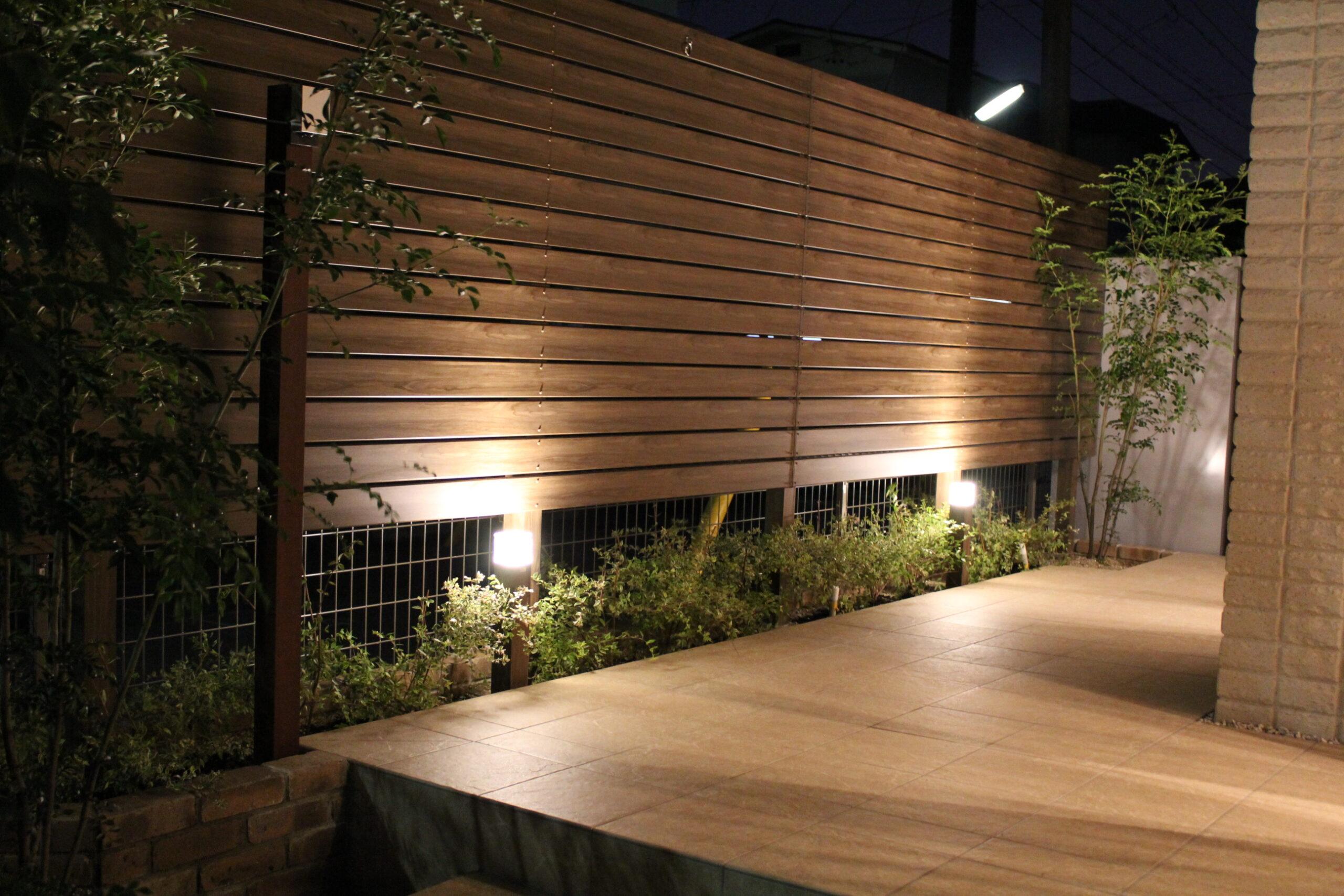 プライベート空間の確保とこだわりのライティング(名古屋市緑区T様邸)